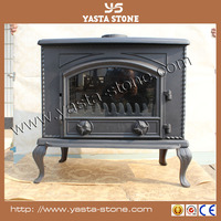 2015 popular wood burning outdoor cast iron wood stove