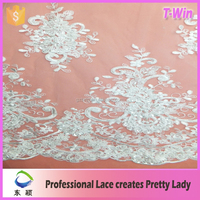 new fashion wedding dress lace/hot manufacturer long sleeve bridal wedding dress/wholesale lace applique bridal
