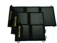 10w foldable solar panel charger with output usd for mobile phone outdoor use