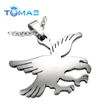 High quality eagle customized stainless steel pendant