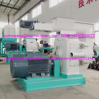 machines for making pellets for burning wood / compressed wood pellets mill