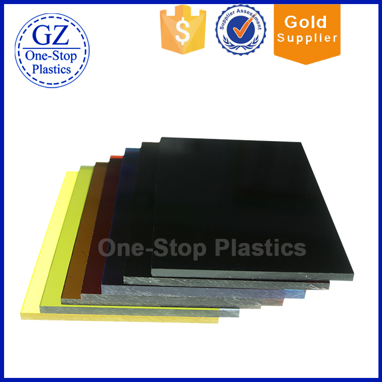UV High Glossy 4mm pvc sheet black