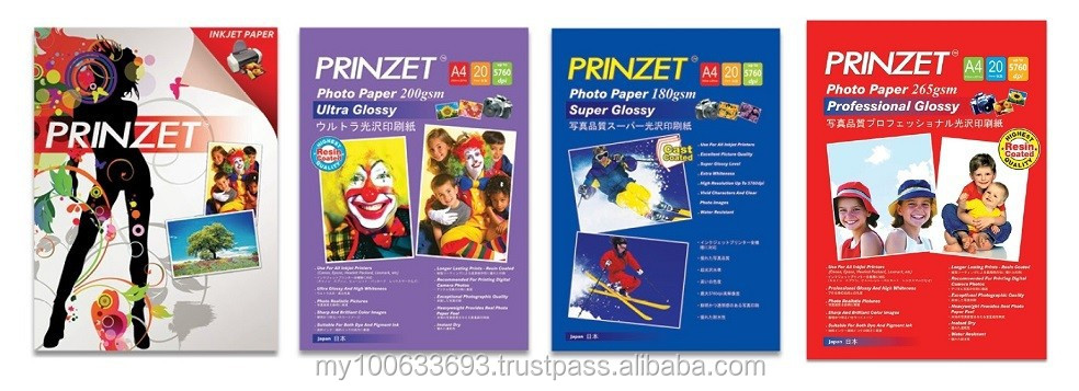 Prinzet Photo Paper Glossy / Semi Glossy Series