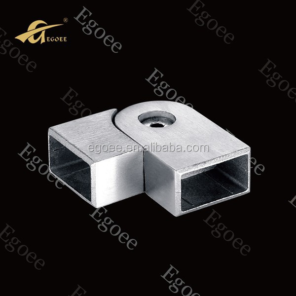 AISI 201 304 316 metal aluminum square tube connector