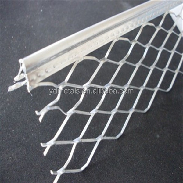 Stainless Steel Corner Bead : Wall protection expanded stainless steel angle bead in