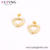 E-876 Xuping Jewelry 24K gold lovely heart shaped earrings for ladies