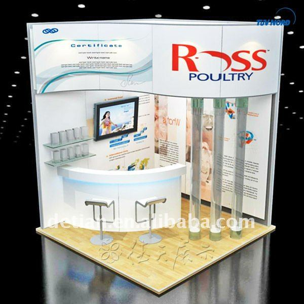 exhibition booth panel/exhibition booth pvc panel/exhibition booth stall design