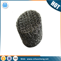 Durable compressed knitted wire screen snow foam lance replacement filter