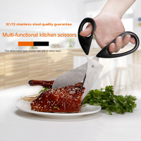 Stainless Steel Multifunction Kitchen Shears/Kitchen Scissors