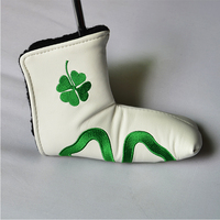 Custom made putter wool knitted golf head cover
