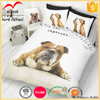 baby and kid crib cotton bed sheets set dog bedding