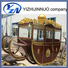 China manufacturer luxurious noble princess royal horse carriage for sale