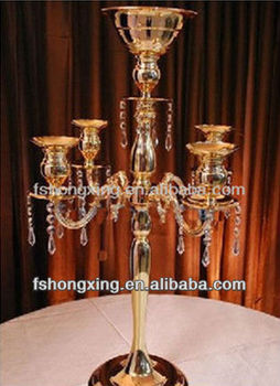 JL-3034 candelabra for table center and wedding table centerpiece