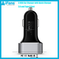 Factory Hot Selling QC 3.0 Car Charger Type C Car Charger 45W Car Charger 3 USB Port