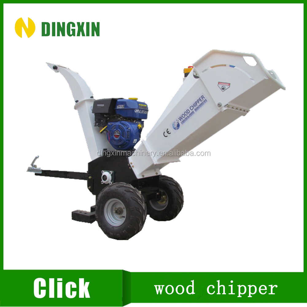 CE approved wood chipping machine, wood chipper shredder, wood chipper