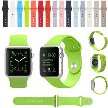 3 Replacement Silicone Wrist Bracelet Sport Band Strap For Apple Watch,for Apple Watch Bands