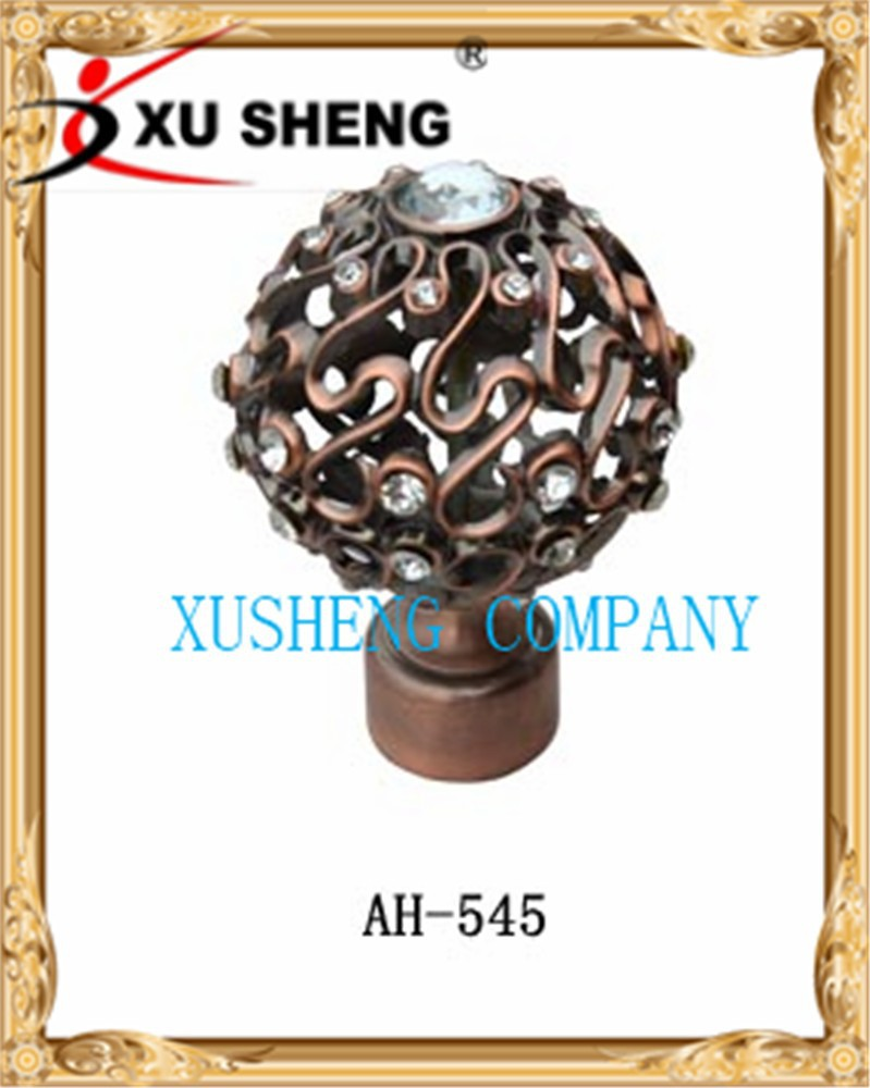 New style hot sales spherical curtain finials