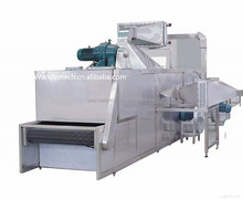 DWT-1.2-10 Continuous vacuum conveyor belt dryer