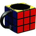 Novelty Magic Cube Shaped Ceramic Coffee Mug
