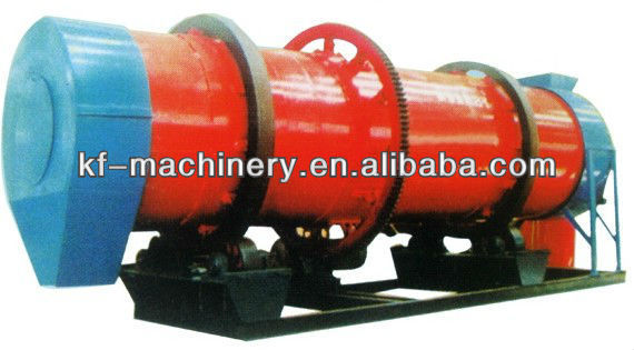 KF high-efficient Sawdust Rotary Dryer for sale