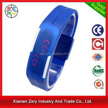 R0775 promotional led watch rubber wrist watch strap
