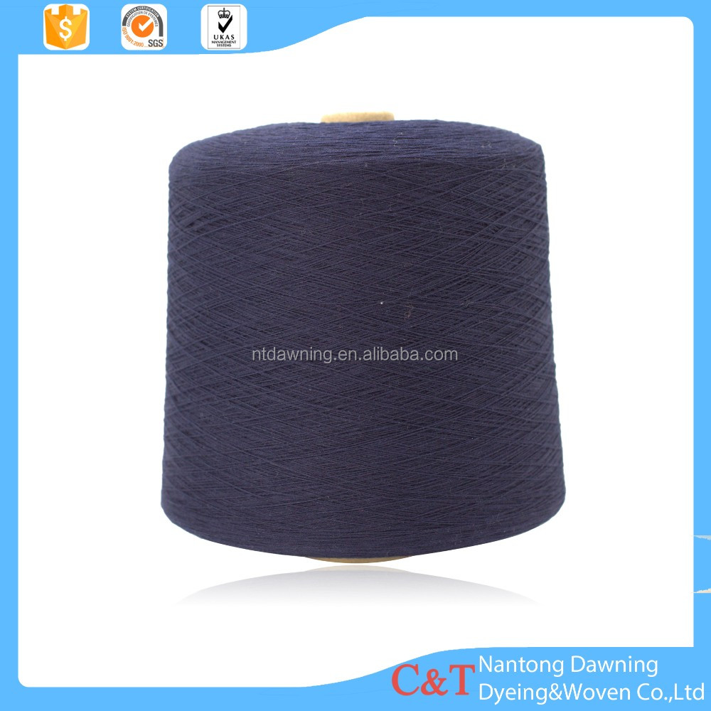 100% cotton combed ring spun color circle knitting yarn