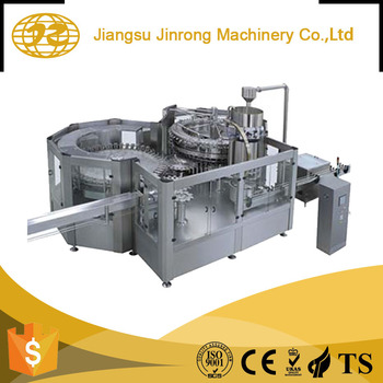 High efficiency glass bottle small carbonated drink cleaning filling machine bottling line