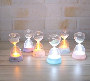 stock storage wholesale Romantic Birthday Gifts Luminous Home Crafts Hourglass