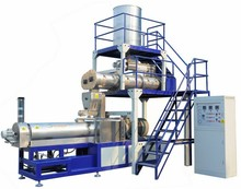 extruded puffed corn snacks making machinery line