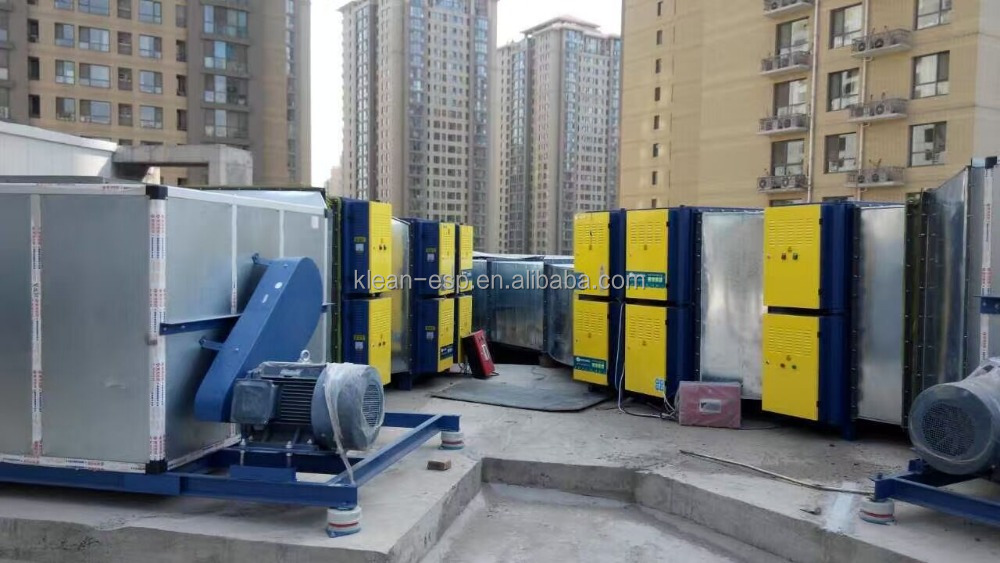 heavy industry machinery for fast food restaurant equipment with grease elimination