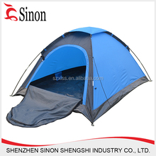 China supplier 190T polyester automatic cheap part tents for sale