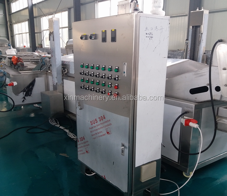 Industrail Fresh French Fries Making Production Line Factory Price Frozen potato finger chips machine