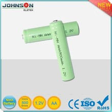 the aa 1.2v an used torch light NI-MH battery,china supplier