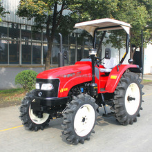 55hp hot sale paddy field tractor for rice farm