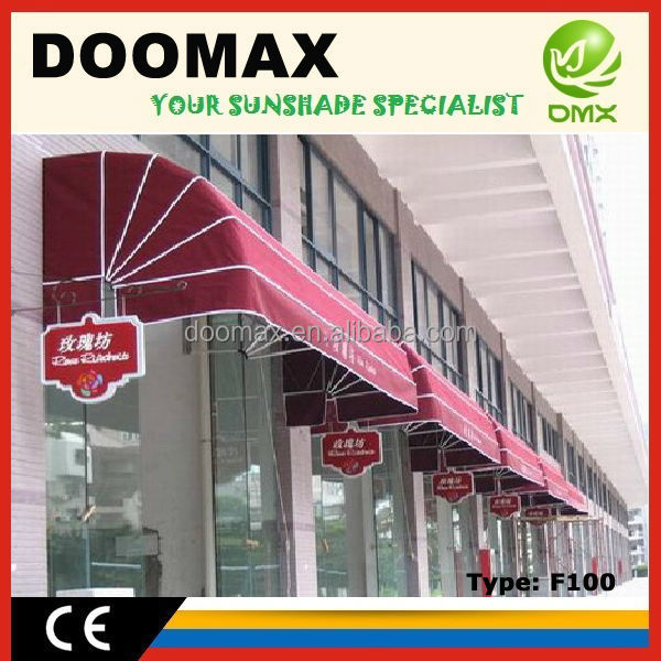 #F100 French Door Shelter Awning