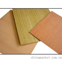 4x8 2mm mdf with various veneer face( natural/recon/engineer/melamine ppaer)