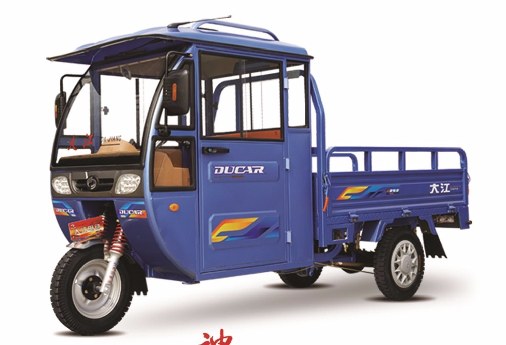 China Ducar Shenlong NO.1 E rickshaw with 60V1500W differential mootor for cargo