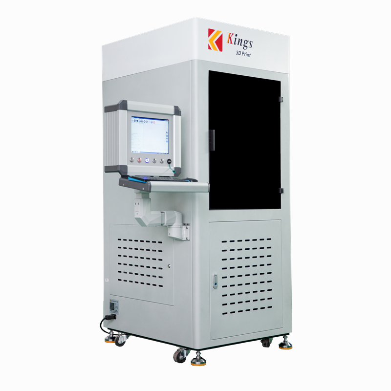 KINGS4500-<strong>C</strong> liquid photopolymer resin sla 3d printer Industrial digital 3D laser print machine