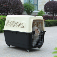 HONDE new diverse Green Initiative portable airline plastic pet cage