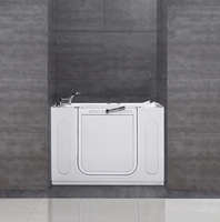 cUPC Outward Open Reversible Older Safty walk in bath tub