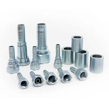 "1/4"" BSP female sus straight hydraulic fittings"