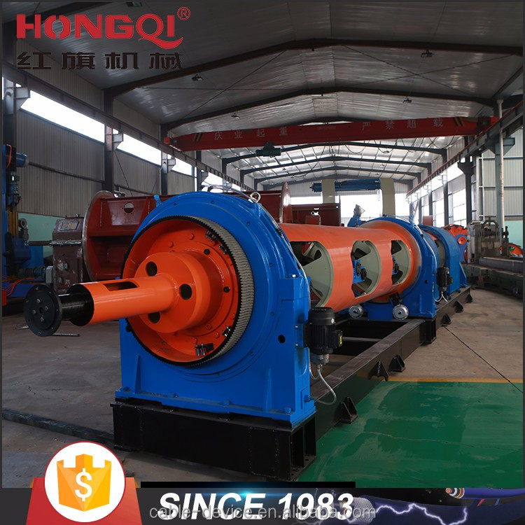 tubular type electrical cable production line for stranding process