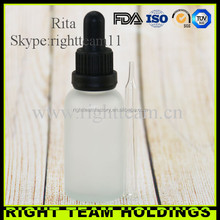 30ml perfume bottles frosted yellow glass bottles wholesale empty vapor bottles and packaging