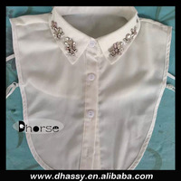 Wholesale fashion detachable collars de moda with rhinestone beaded