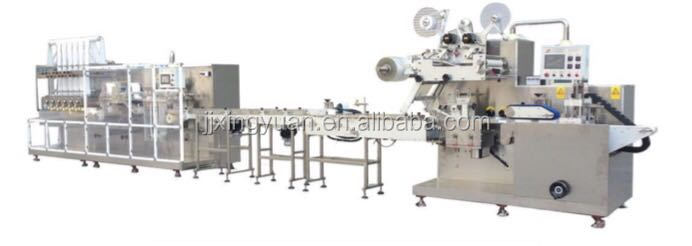 Cheap price high speed baby diaper wet tissue machine,wet wipes production line