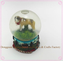 Modern hot sale festival religious gifts Unique Dog halloween water globe