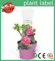 Best China plant label vendor/manufacture of custom printed plastic plant labels for fresh flower