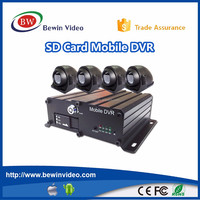 4G GPS tracking H.264 Car Vehicle blackbox recorder mobile DVR