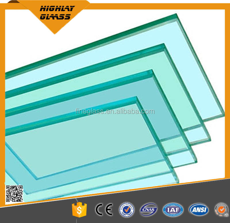 Clear tempered toughened glass block brick for buildings