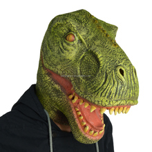 Brazilian Carnival Latex Dragon T-rex Dinosaur Mask Rubber Custom Selling Animal Mask